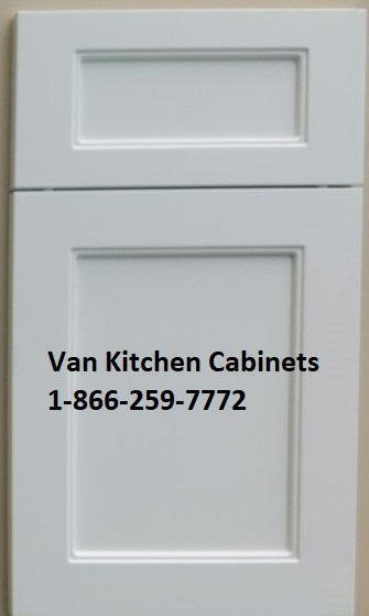 Thermofoil shaker cabinet doors